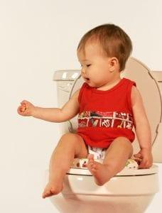 תינוק עושה ״סיר״